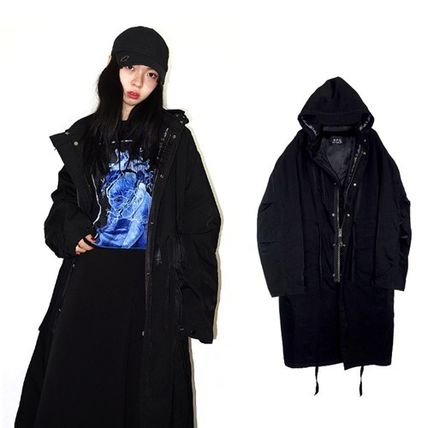 ☆MPQ☆HOOD REMOVABLE_M-65 MOTIVE LONG COAT
