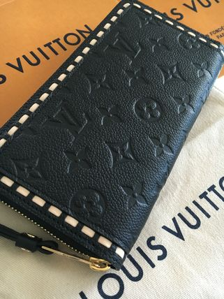 LOUIS VUITTON zippy wallet Noir already in stock