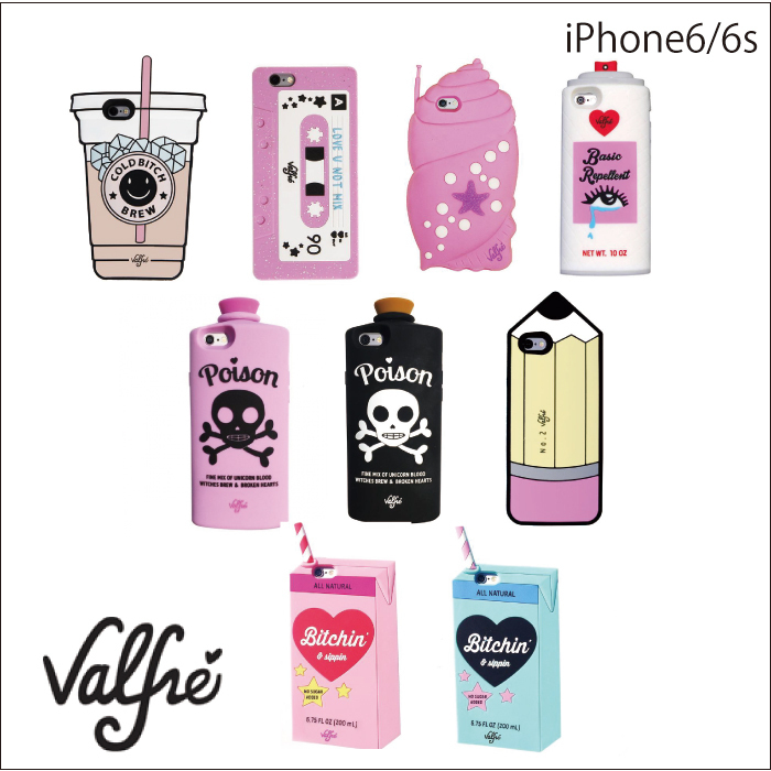 セール☆valfre iPhone6/6sケース★COLD BITCH他 全9柄