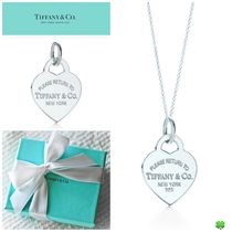 定番★ Tiffany & Co ティファニー★heart tag Charm and chain