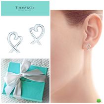 新作★ Tiffany & Co ティファニー★Loving Heart Earrings