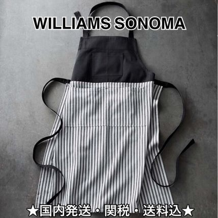 Williams Sonoma stripe apron