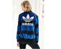 adidas Blue Floral Track Top