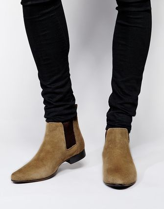 ASOS suede leather Couleur local stock immediate delivery