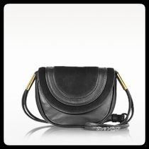 ★DIANEvonFURSTENBERG ★BLACK MINI CROSSBODY BAG★送料込み★