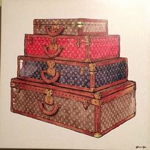 Oliver Gal 'The Royal Luggage 'キャンバス(3サイズ)