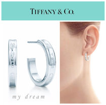 【Tiffany & Co】Tiffany 1837 Narrow Hoop Earrings,small
