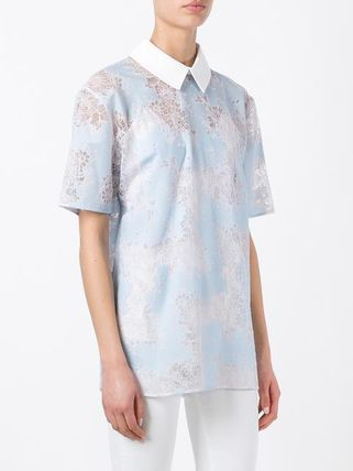 CARVEN ブラウス・シャツ ♪送料・関税込 CARVEN classic collar lace T-shirt♪(3)