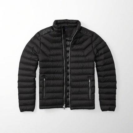 【国内即発送!】アバクロ LIGHTWEIGHT PUFFER JACKET★BLACK