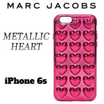 【国内発送】MARC JACOBS METALLIC HEART★IPHONE 6S CASE♪♪