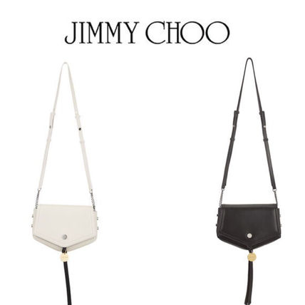 ★Jimmy Choo★ ジミーチュウ ARROW Nappa Leather Cross Bag