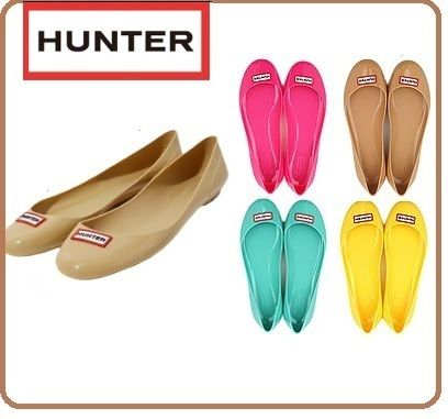 HUNTER ballet shoes type ladies Romilly