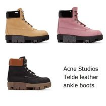 ACNE Telde leather ankle Hiking boots ハイキングブーツ 3色