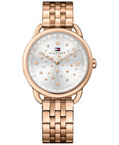 追尾/関税込Tommy Hilfiger Sport Rose Gold star watch 36mm