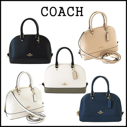 3-5 days at COACH MINI SIERRA dome 2-way bag