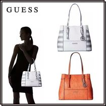 SALE!*Guess*Delaney ショッパーバッグ★関税・送料込★全2色