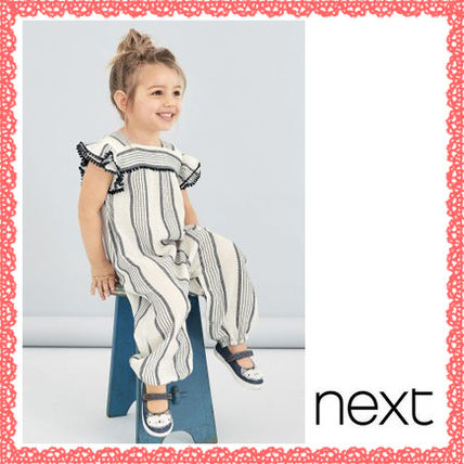 NEXT popular striped pattern all-in-one rompers 95-