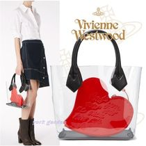 17SS新作★Vivienne Westwood★クリアとハートが可愛いバッグ!!