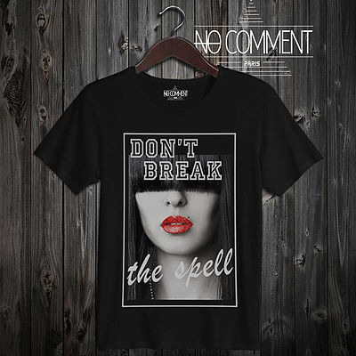 【日本未入荷】 NO COMMENT PARIS 【dont break】 Tシャツ