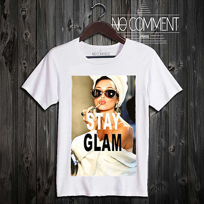 【日本未入荷】 NO COMMENT PARIS 【stay glam】 Tシャツ