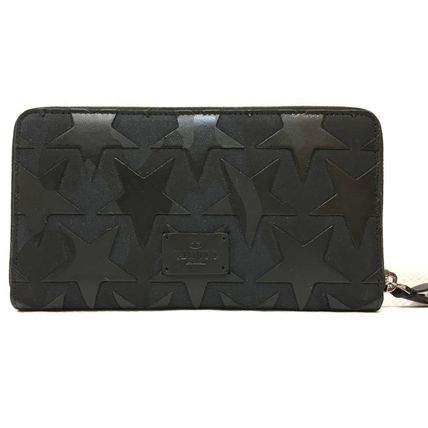 """Valentino long wallet came star leather wallet """"."""