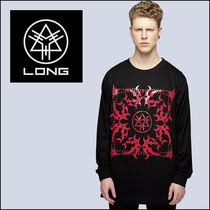 LONG CLOTHING(ロングクロージング) タンクトップ LONG CLOTHING ロングクロージング Core Long Sleeve (Red)  ロ