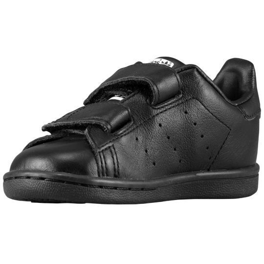 ADIDAS STAN SMITH BLACK TD 11-16.5cm 送料無料