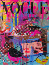 "シェーン・ボーデン ""VOGUE MAGAZINE COVER-TRUTH""76 x 102cm"