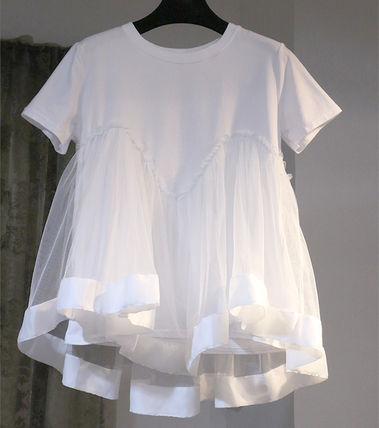 Cute flare tulle T shirts