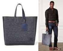 【送料込】 Ralph Lauren ★ Denim Easy Tote