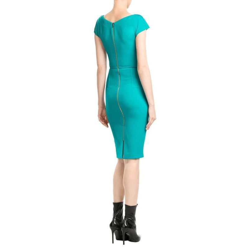 Roland Mouret(ローラン・ムレ)★Tailored Wool Crepe Dress★