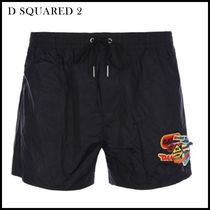 D SQUARED2(ディースクエアード)★swim shorts with patches★