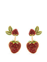 Dolce & Gabbana(ドルチェ&ガッバーナ) アクセサリーその他 D&G★Strawberry drop clip-on earrings