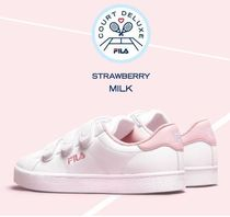 日本未入荷FILAのCOURT DELUXE VC STRAWBERRY MILKスニーカー