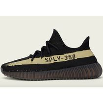 レディース★Adidas YEEZY BOOST 350 V2 CORE BLACK / GREEN  緑