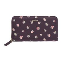 ☆Cath Kidston☆LEATHER PRINTED CONTINENTAL WALLET☆