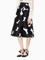 セール!kate spade blot dot midi skirt★スカート★人気柄