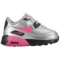 SS17 NIKE AIR MAX 90 TD SILVER HYPER PINK 10-16cm 送料無料