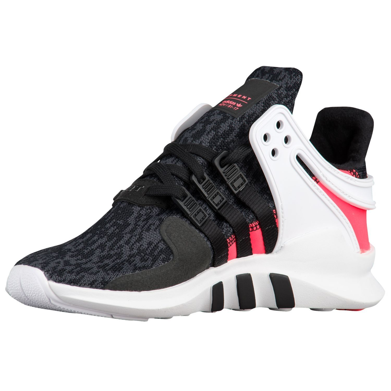 ADIDAS EQT SUPPORT ADV GS BLACK TURBO  22-25cm  送料無料