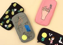 【OOH LA LA(ウーララ) 】FABRIC PENCIL POUCH   4type
