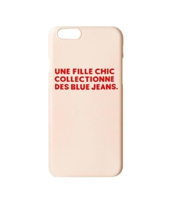 un bon collector Fille Chic iPhoneケース