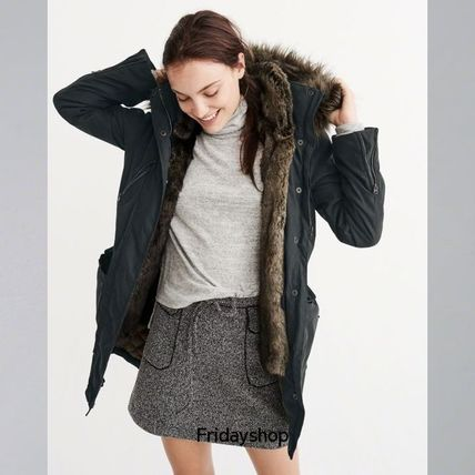 Abercrombie & Fitch コート LAST CHANCEレアなXLサイズThree-In-One Faux Fur Lined Parka