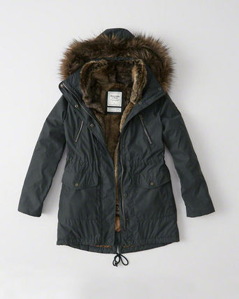 Abercrombie & Fitch コート LAST CHANCEレアなXLサイズThree-In-One Faux Fur Lined Parka(4)