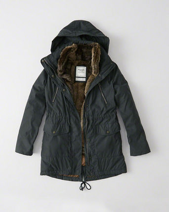 Abercrombie & Fitch コート LAST CHANCEレアなXLサイズThree-In-One Faux Fur Lined Parka(5)