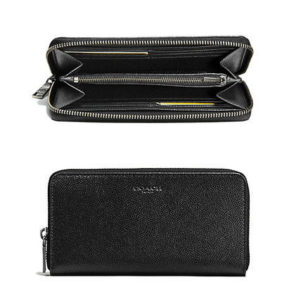 Cross Green COACH a outfit young wallet F58107 black