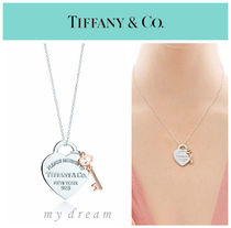 【Tiffany & Co】Return to Tiffany Heart Key Pendant Rubedo
