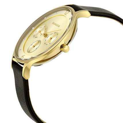 ★人気!★SKAGEN Anta Gold-Tone Dial Watch SKW2393