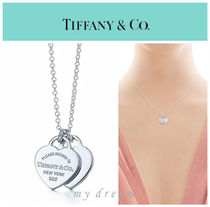 【Tiffany & Co】Return to Tiffany Double Heart Tag Pendant