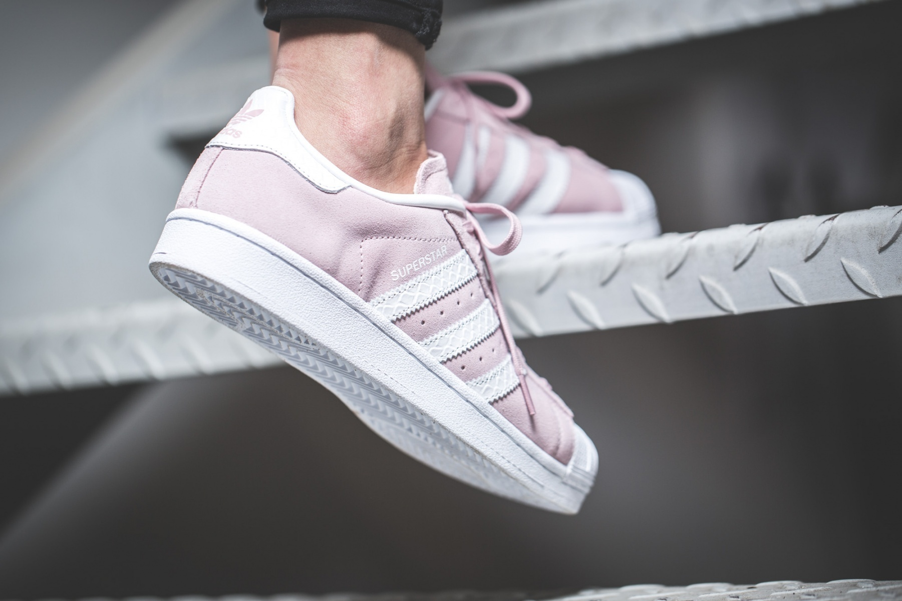 adidas Low-Top ADIDAS SUPERSTAR W PINK pink sneakers