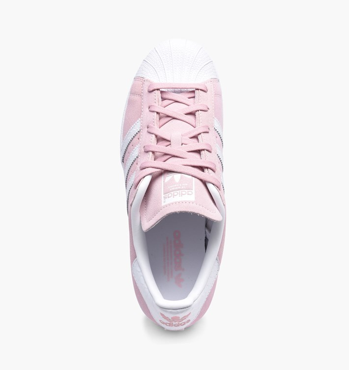 adidas Low-Top ADIDAS SUPERSTAR W PINK pink sneakers 5